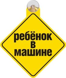 Другие Табличка на присоске За рулем ученик - фото 11